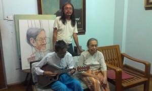 Ko Cho and parents