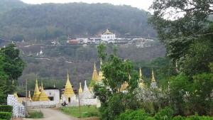 Pindaya Stupas