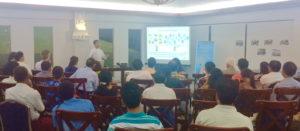 Greenovator launch Thein Soe Min